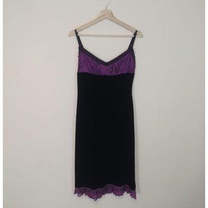 Betsey Johnson Vintage Velvet Dress